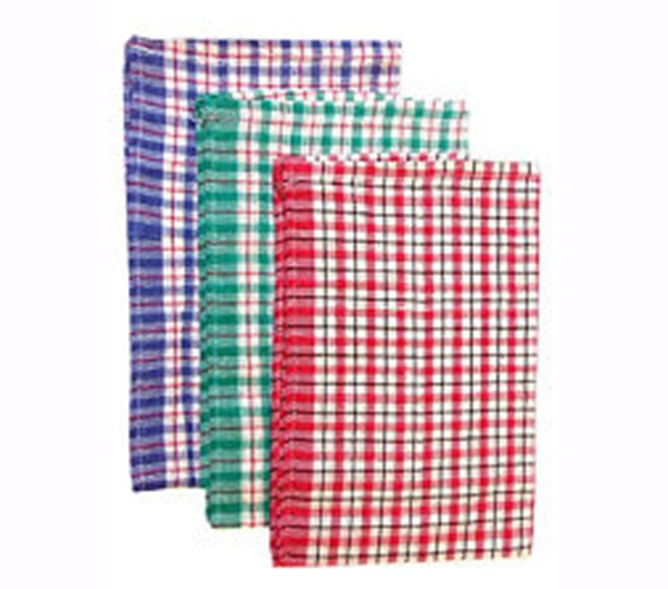 Checked Tea Towel